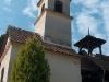 Valkonyai kápolna a falu felől