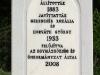 Több mint száz éve állíttatta  Gerencsér Rozália és Horváth György