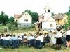 A Letenyei Tűzoltózenekar az ünnepségen