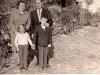 Hegedűs Sándor és  családja