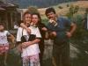 Hársfalvi Péter, Anyjával és Apjával