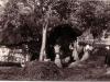 Kézi cséplés a Bazsó portán (1958)