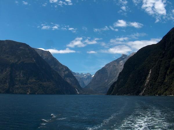 Fjord - Új-Zéland
