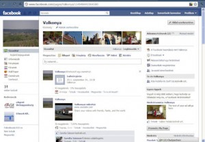 Valkonya a facebookon